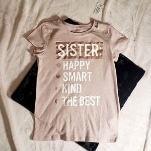 👑 3 FOR 25👑 THE CHILDRENS PLACE sister t